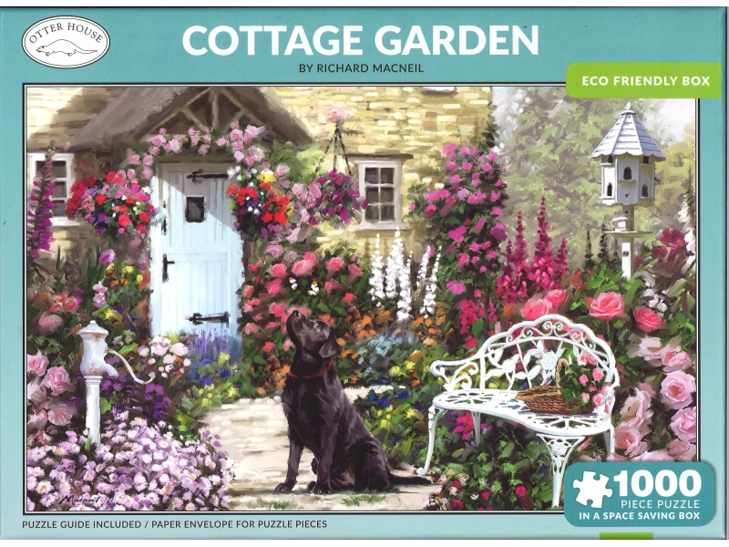 Cottage Piece - 1000 Piece Jigsaw