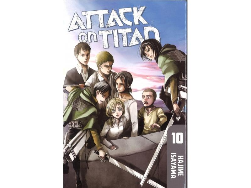 Attack On Titan 10 - Hajime Isayama
