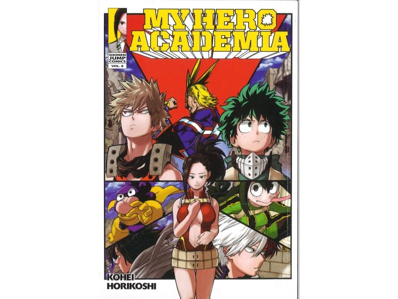 My Hero Academia 8 - Kohei Horikoshi