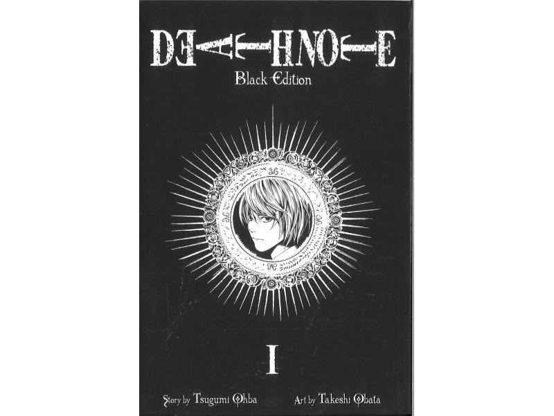 Death Note 1 - Black Edition - Tsugumi Ohba