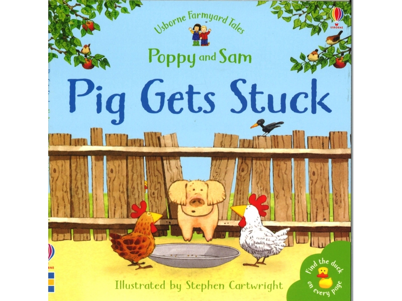 Poppy And Sam - Pig Gets Stuck