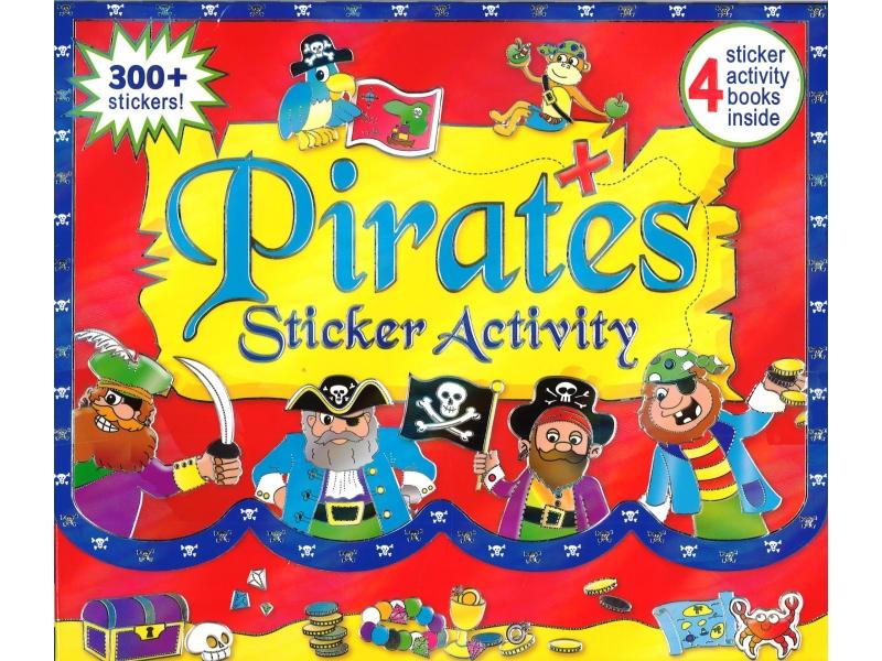 Pirates Sticker Activity