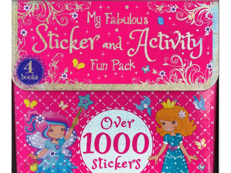 My Fabulous Stickers And Activity Fun Pack