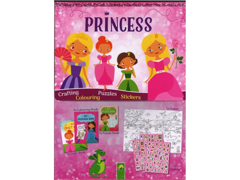 Princess Sticker Activity Pack