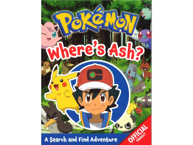 Pokemon - Where's Ash?