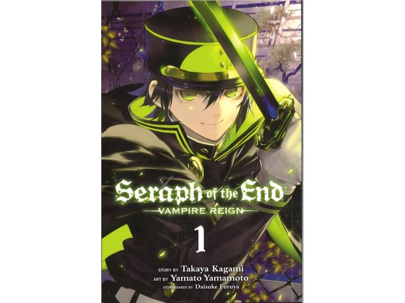 Seraph Of The End - Vampire Reign 1 - Takaya Kagami