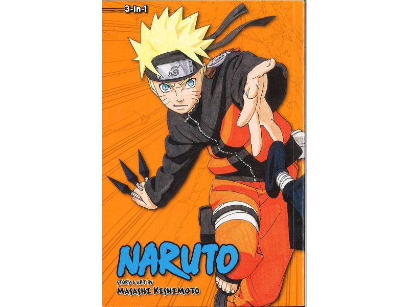 Naruto 3-in-1 Volumes 28-29-30 - Masashi Kishimoto
