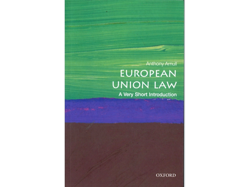 Anthony Anrull - European Union Law