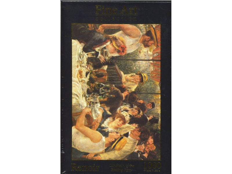 Renoir Luncheon Of The Boating Party - 1000 Piece Jigsaw