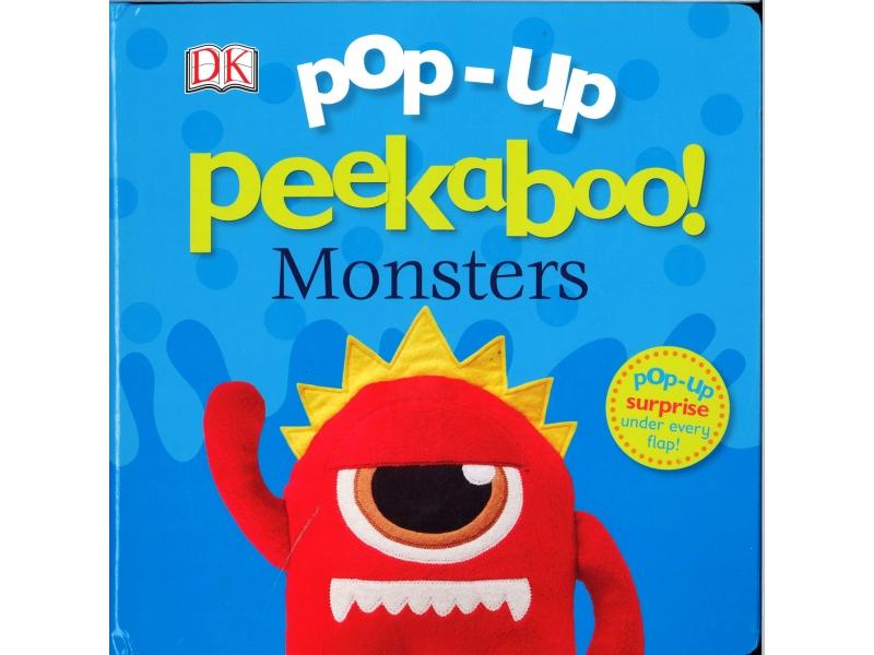 Pop-Up Peekaboo ! Monsters