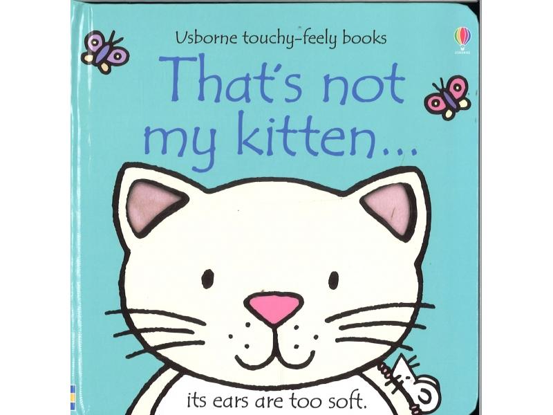 Usborne - That's Not My Kitten