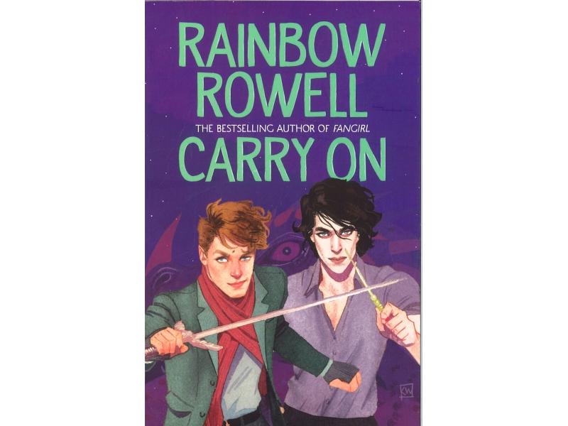 Rainbow Cowell - Carry On