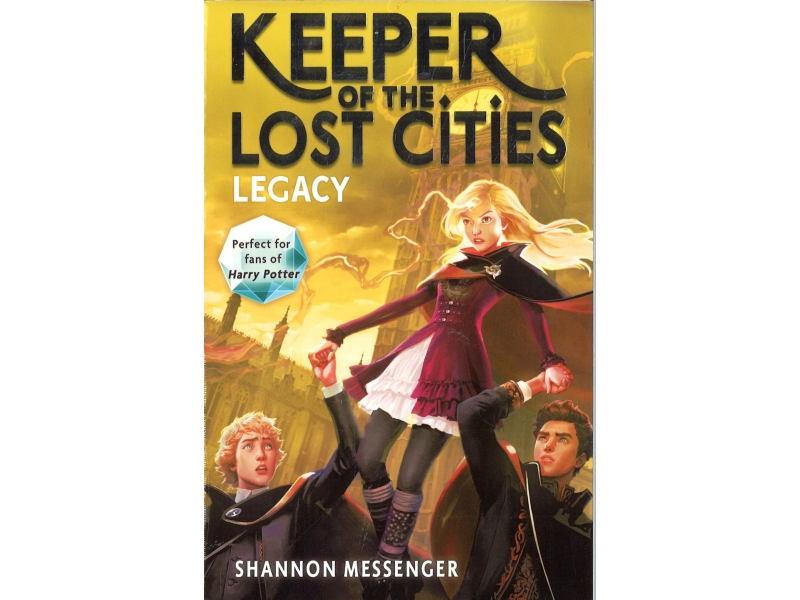 Shannon Messenger Book 8 - Keeper Of The Lost Cities - Legacy