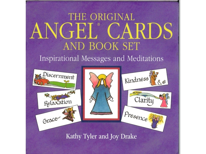 Kathy Tyler And Joy Drake - The Original Angel Cards And Book Set