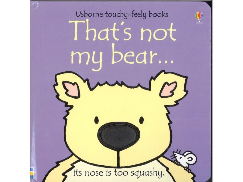 Usborne - That's Not My Bear