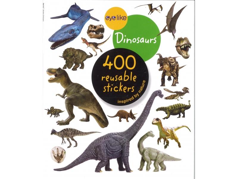 Dinosaurs 400 Reusable Stickers