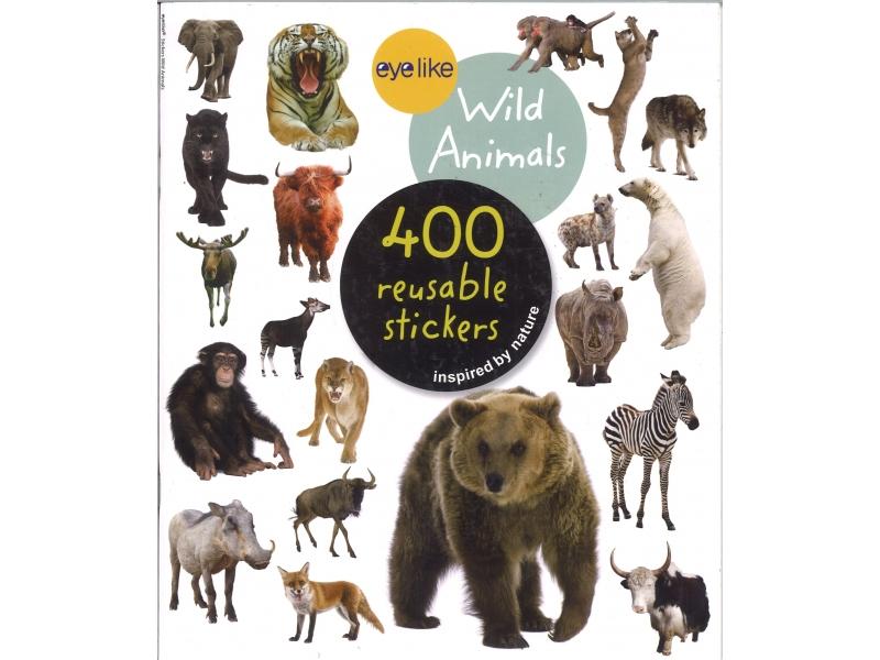 Wild Animals 400 Reusable Stickers