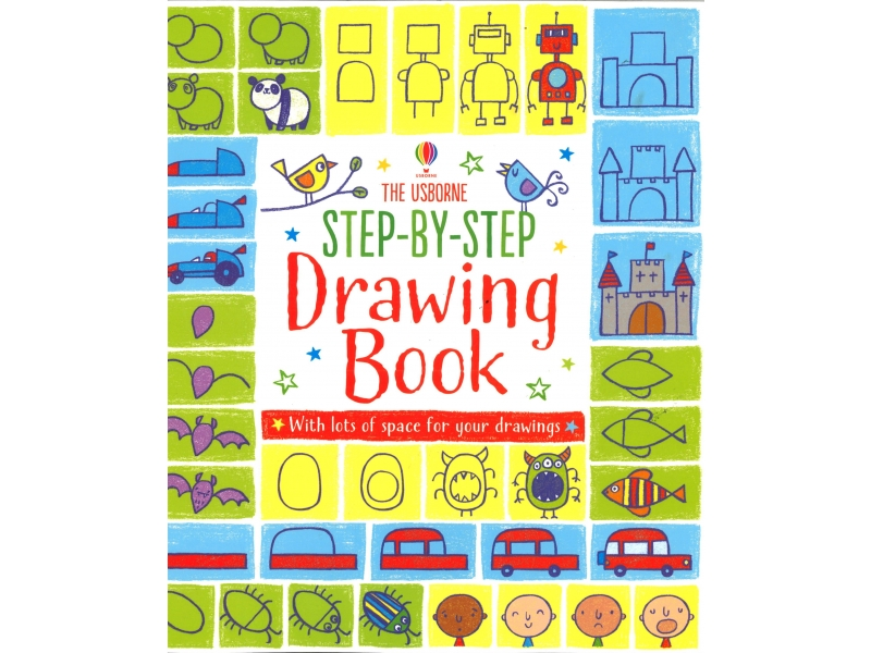 Usborne - Step By Step Drawing Book