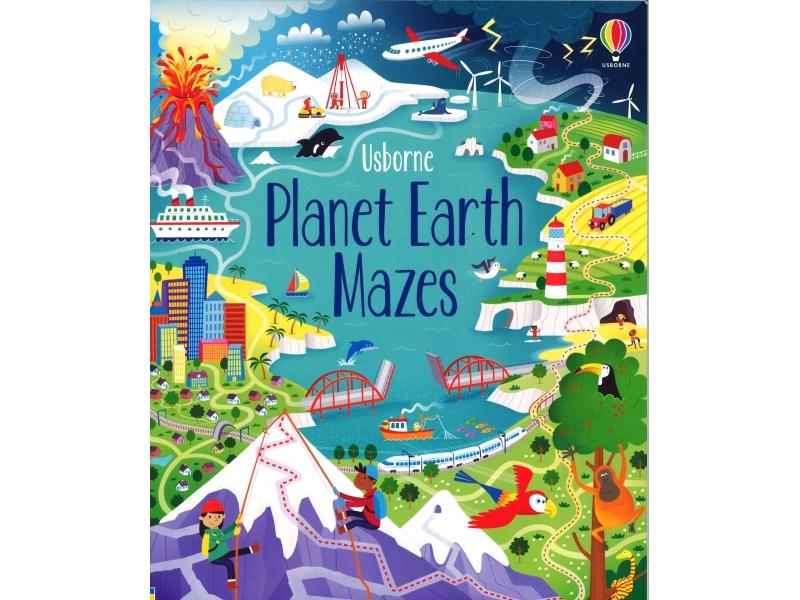 Usborne - Planet Earth Mazes
