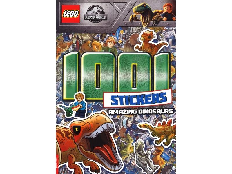 Lego - Jurassic World - 1001 stickers