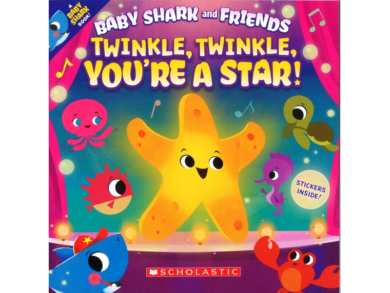 Baby Shark And Friends - Twinkle, Twinkle, You're A Star!