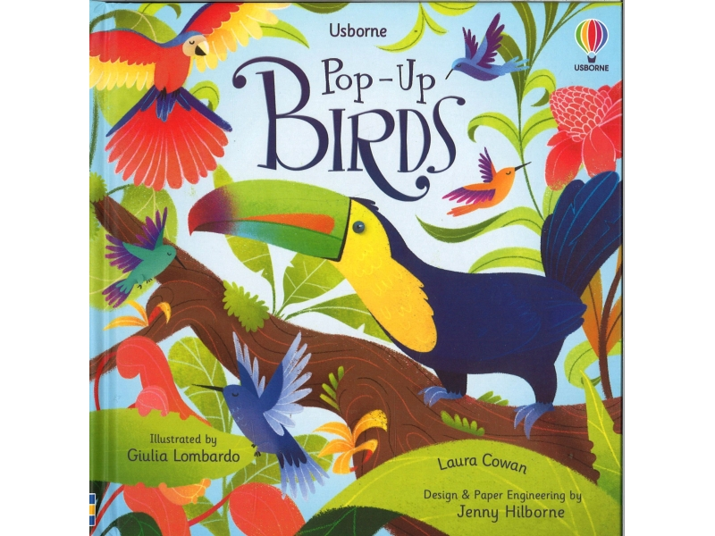 Usborne - Pop-Up Birds