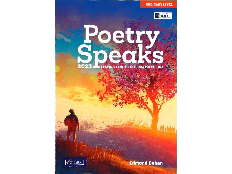 Poetry Speaks - Leaving Cert English - Ordinary Level