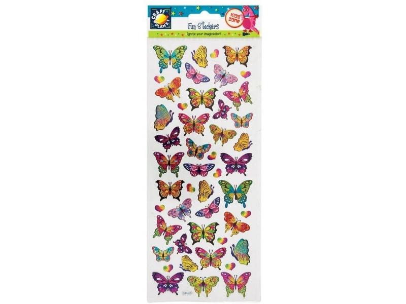 Craft Planet - Fun Stickers Butterflies