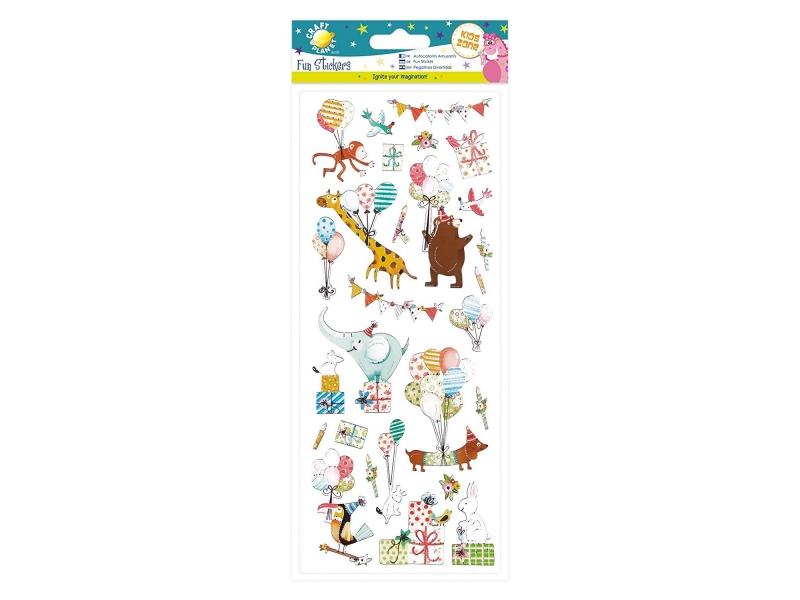 Craft Planet - Fun Stickers Birthday Animals