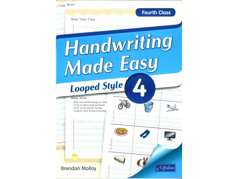 Handwriting Made Easy 4 - Looped Style - Fourth Class