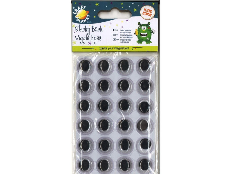 Wiggly eyes 24 pack