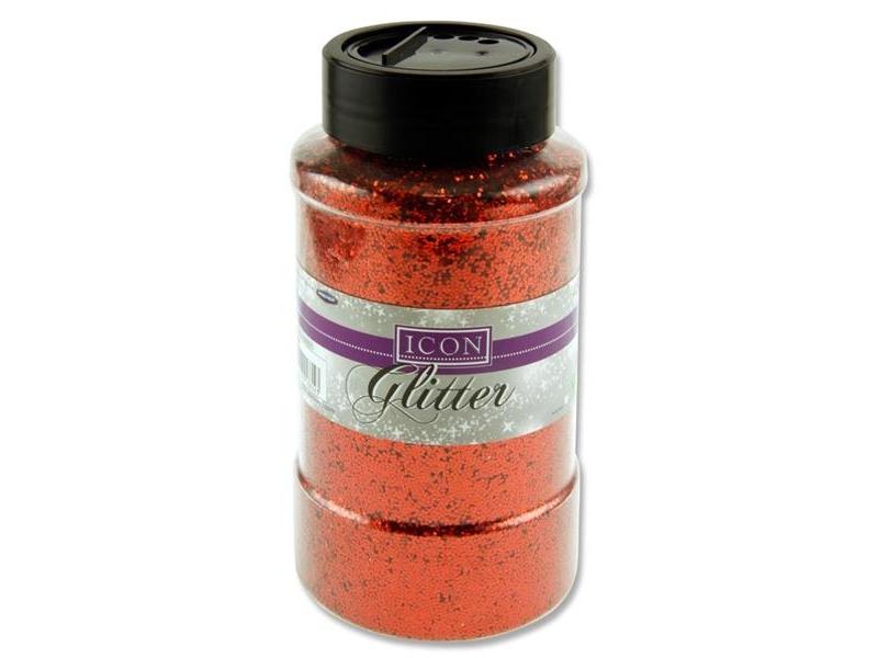 Glitter 450g - Red