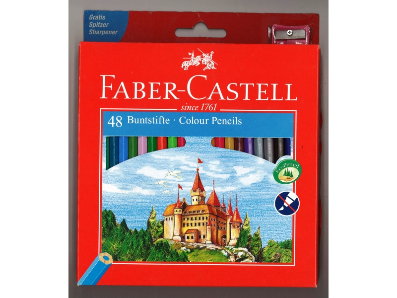 Faber-Castell Colouring Pencils 48 Pack