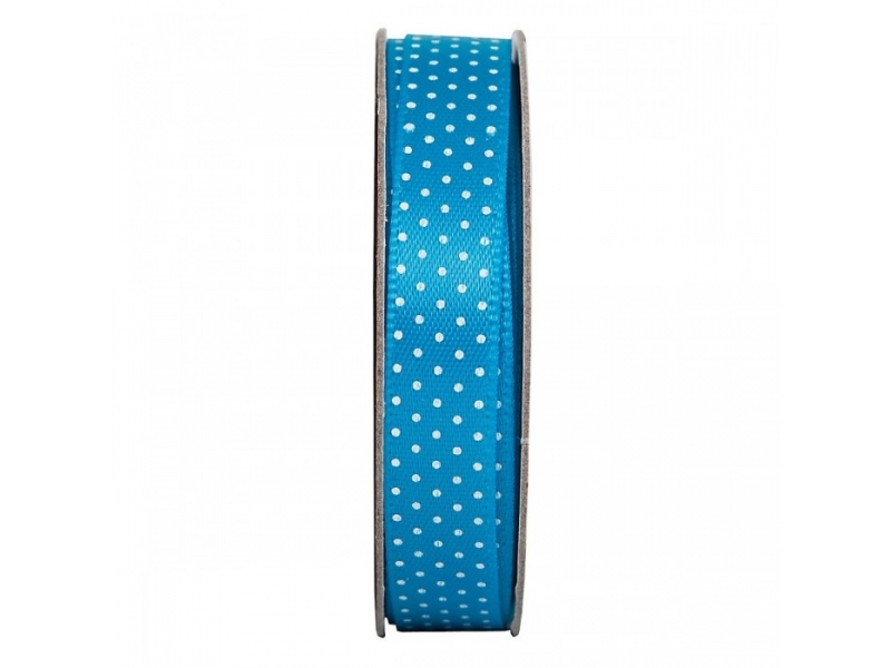Ribbon 3m Spotted - Turquoise