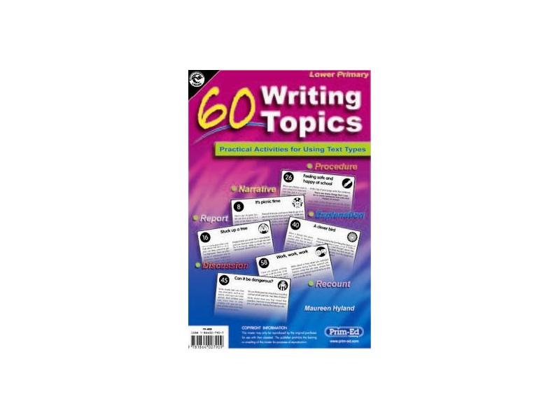 60 Writing Topics Lower