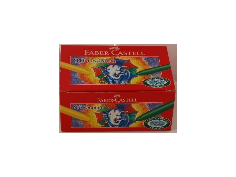 Faber-Castell Chublets 96 Pack