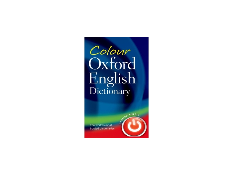 Oxford English Dictionary Colour