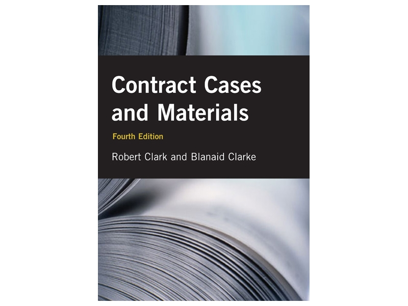 Contract Cases & Materials - 4th Edition