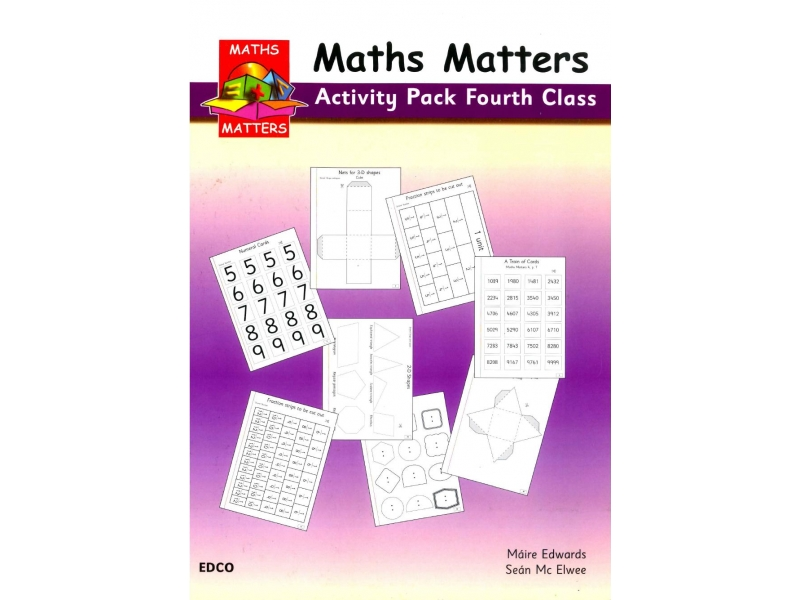 Maths Matters 4 - Pupil's Activity Pack - Fourth Class