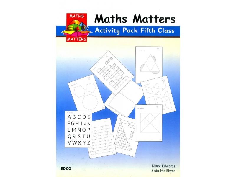 Maths Matters 5 - Pupil's Activity Pack - Fifth Class
