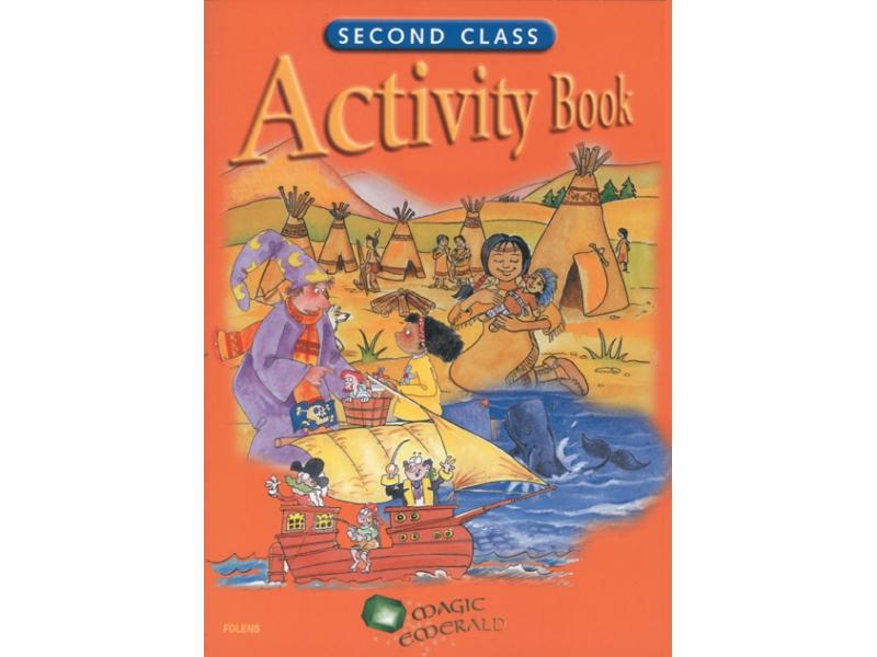 Second Class Activity Book - Magic Emerald - Second Class