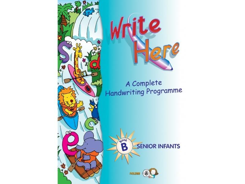 Write Here B - Senior Infants
