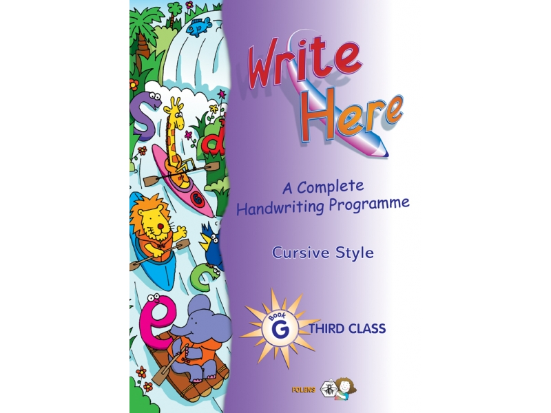 Write Here G - Cursive - Third Class