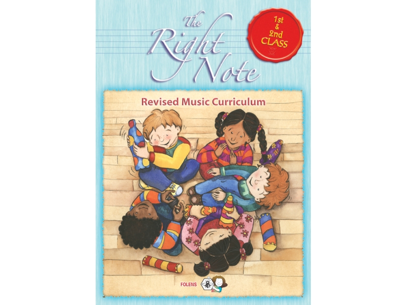 The Right Note 1st & 2nd Class Activity Book - First & Second Class