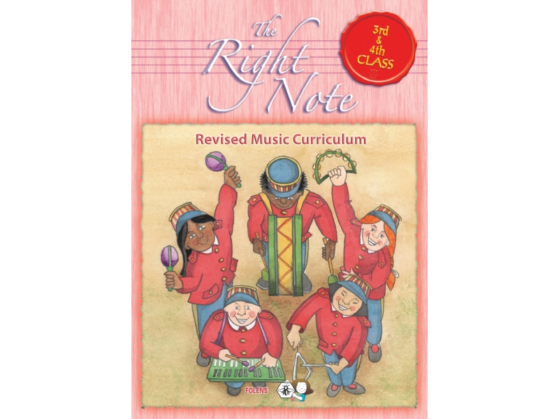 The Right Note 3rd & 4th Class Activity Book - Third & Fourth Class