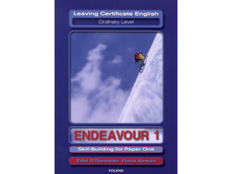 Endeavour 1 - Leaving Cert English Ordinary Level