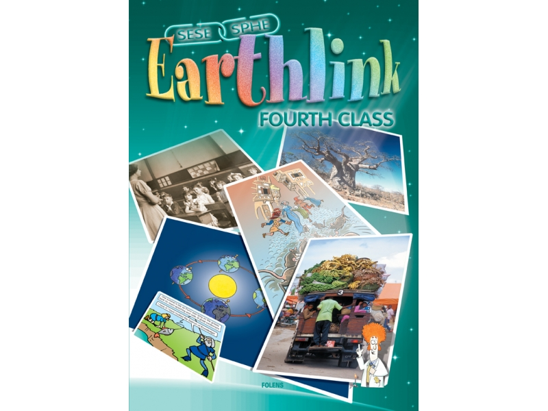 Earthlink 4 Pack - Textbook & Workbook - Fourth Class