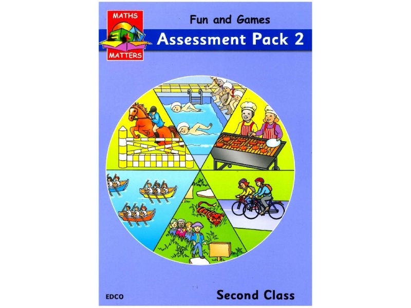 Maths Matters 2 - Tried & Tested Assessment Pack - Second Class