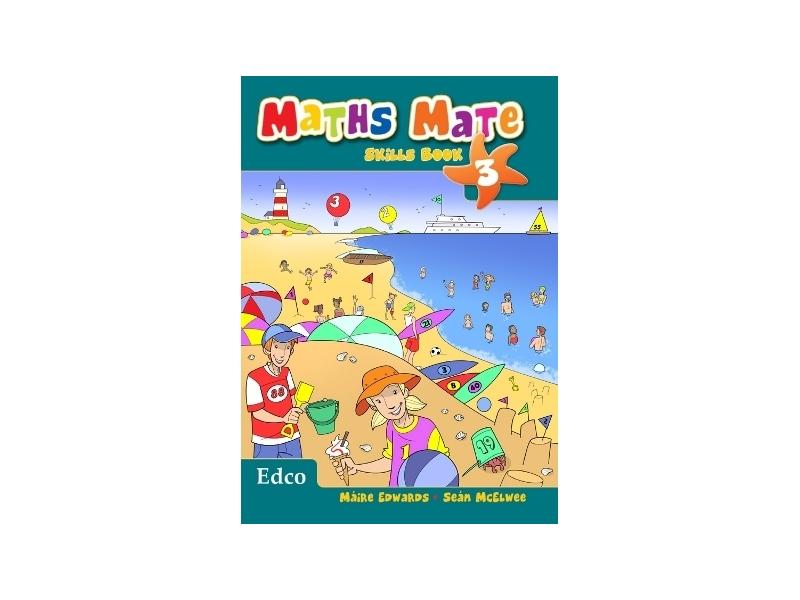 Maths Mate Skills Book 3 - Third Class