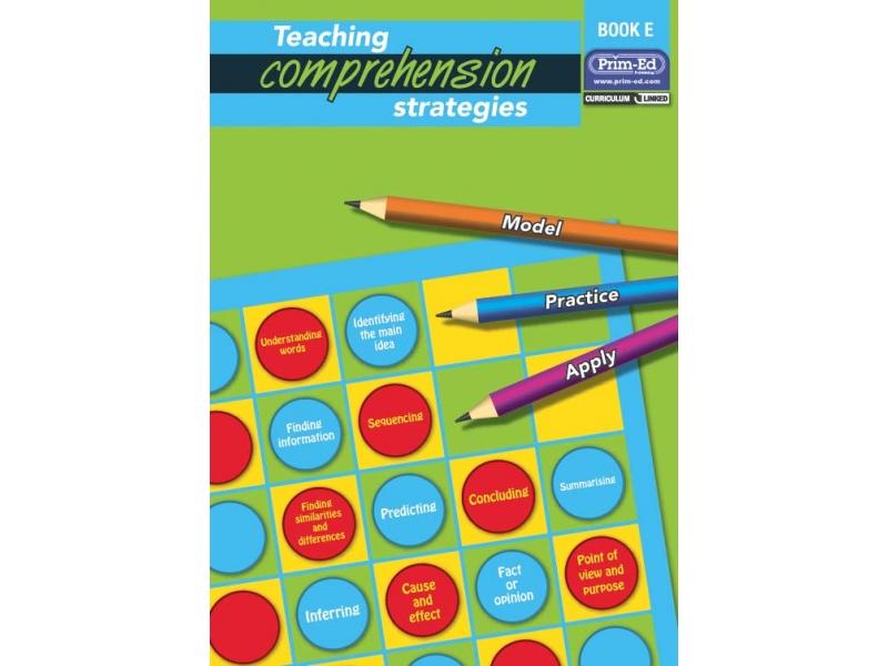 Teaching Comprehension Strategies Book E